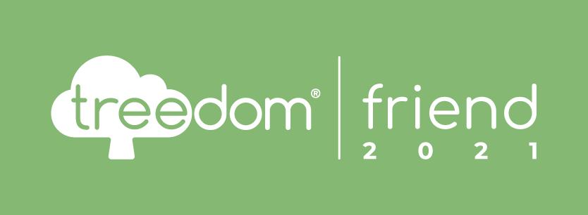 Logo Treedom Friend 2021 - responsabilità sociale - salvatore piccolo consulente marketing K Word